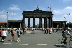 1995 Berlin - Brandenburger Tor  ☺