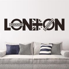 We love it and we know you also love it as well creative words LONDON wall stickers quotes room decoration 8345. diy vinyl adesivo de paredes home decals art posters papers 3.5 just only $3.28 - 3.52 with free shipping worldwide  #wallstickers Plese click on picture to see our special price for you