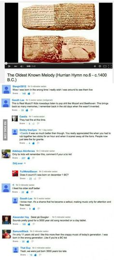 Epic YouTube comments