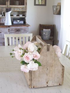 Secret Garden Cottage: A NEW OLD TOOL CADDY