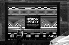 Nördik Impakt by Murmure. ––– Nördik Impakt is an electronic and independent culture festival hosted in Caen. For its 15th year, the festival called on Murmure to create its global communications. We created a geometric, enthusiastic and ambitious, unique visual identity in its entirety.