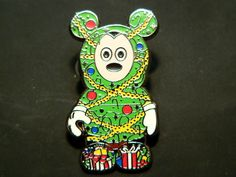 DISNEY PIN Vinylmation Christmas Tree Holiday #1 MICKEY Mystery Limited Release $9.99