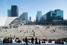 #plaza #France #architecture #urban View of the Arc de Triomphe from the Grande Arche http://www.archiref.com/en/ref/urban-landscapes-human-scale-31125?flagged=1#.UkfTIz8gpP4