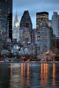 New York City and River