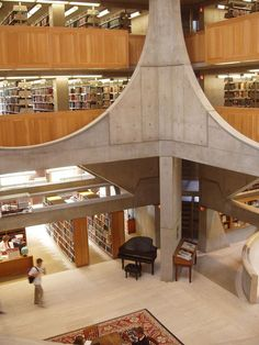 Phillips Exeter - library 3 - Phillips Exeter Academy Library - Wikipedia, the free encyclopedia