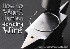 How to work harden jewelry wire