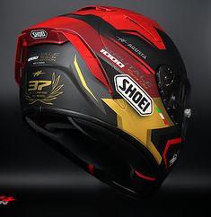 Motorcycle Helmet Design, Motorcycle Men, Racing Helmets, Racing Team, Hd 883 Iron, New Helmet, Biker Gear, Real Steel, Mv Agusta