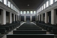 Abdij Sint Benedictusberg Mamelis/Vaals – Dom Hans van der Laan by Dennis Hambeukers, via Flickr