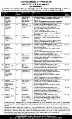 Jobs Advertisement Job Advertisement, Advertising, Pakistan Railways, Jobs In Islamabad, Railway Jobs, Government Of Pakistan, Latest Jobs In Pakistan, Newspaper Jobs, Post Date