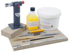 Starter Soldering Kit: http://www.cooksongold.com/Jewellery-Tools/Starter-Soldering-Kit-Un-2837-prcode-999-096Q