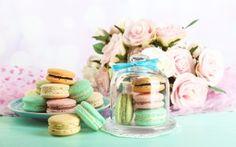 еда, макаруны, dessert, розы, cookies, almond, macaron, десерт, печенье, макарун, sweet
