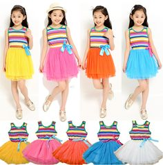 Cheap clothing mart, Buy Quality dress up clothing directly from China clothing co Suppliers: Retail 2015 Summer Hot New 2-10Y girl clothings,kid girls Stripes & Ruffles Maxi beach Bohemian long Dress,baby  high qu
