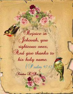 Psalm 97:12