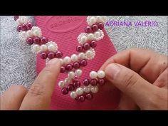 Como fazer: Chinelo Havaiana Pink (EDITADA) - Adriana Valério - YouTube