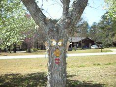 tree face /female