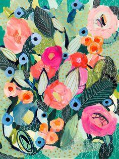 Doreen's Optimism 12x16 by Carrie Schmitt at carrieschmittdesign.com