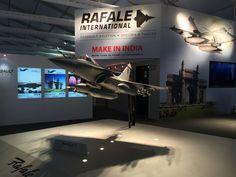 Dassault Aviation - Aero India 2015 - Photo : Decoral