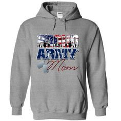 Proud Army Mom T-Shirts, Hoodies. VIEW DETAIL ==► https://www.sunfrog.com/LifeStyle/Proud-Army-Mom-5438-SportsGrey-Hoodie.html?id=41382