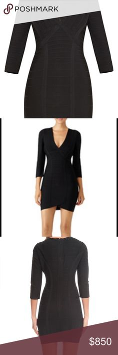 Herve leger dress Beautiful classic bandage dress tags still attached. Never got around to wearing. You will have this dress forever! Style Nathalia. Price is firm. Please don't wast time lowballing. Thanks! Herve Leger Dresses Mini