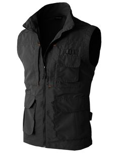 Amazon.com: H2H Mens Casual Work Utility Hunting Travels Sports Vest With Multiple Pockets: Clothing
