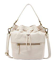 22812093be82 Fossil Vickery Drawstring Convertible Satchel #Dillards Fossil Handbags,  Dillards, Everyday Bag, Convertible