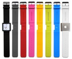 Rubber Band watch for iPod nano $9.95