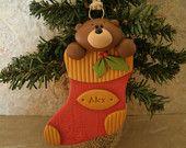 Sheep Christmas Ornament. $7.95, via Etsy.