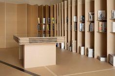 tienda de carton