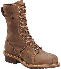 Medium Wolverine Mens Rancher MET-Guard Industrial Shoe M   07.5 DARK BROWN