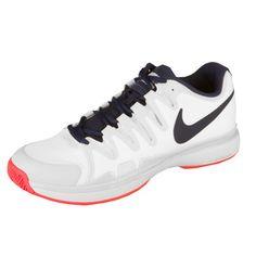 Nike Zoom Vapor 9.5 Tour All Court Shoe Women - White, Dark Blue