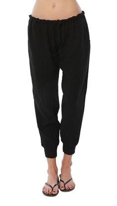 9Seed Fire Island Surf Pants Black