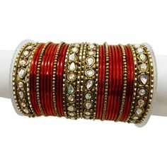 Iba Red Bollywood Bangle Set Gold Tone Women Wear Kangan Bracelet Jewelry Indian Wedding Bridal Fashion Ethnic Churi Gift 2*6 IBA,http://www.amazon.com/dp/B00BEU2WA6/ref=cm_sw_r_pi_dp_IDozrbE3B9D94485