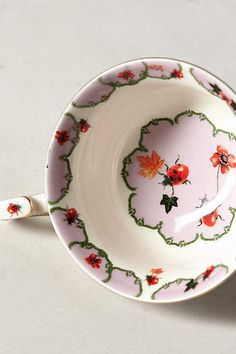 Nature Table Teacup - anthropologie.com #anthropologie #AnthroFave