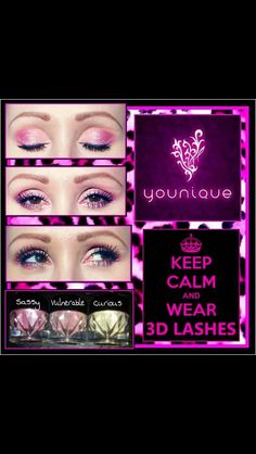 Younique 3D fiber lash mascara no messy glue or falsies!! Along with our pigments! If interested in ordering go to www.youniqueproducts.com/savannahgillis  Or www.facebook.com/youniquesavannah