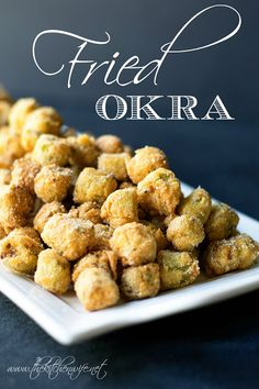 A fantastic recipe for Fried Okra that comes out perfect every time. www.thekitchenwife.net