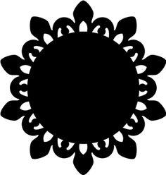 Silhouette Design Store: antique doily