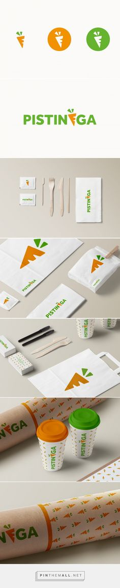 Pistinèga // Juice Bar on Behance by Maurizio Pagnozzi London, UK curated by Packaging Diva PD. Branding and packaging project for Pistinèga, Juice Bar of Bologna, Italy.