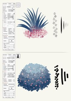 SAI 2 Foliage Brushes by Sutexii