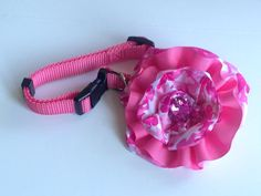 Embellished Dog Collar,Interchangeable Dog Collar,Girie Dog collar,Pink Camo Dog Collar on Etsy, $17.99