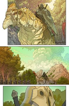 Project Waldo - Page 2 color by ~hughferriss on deviantART