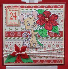 Tinas kreative Seite - #18 von 24 Squares for Christmas