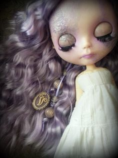 Violet the little ghost girl (shepuppy) Tags: ghost lavender blythe tbl pure neemo