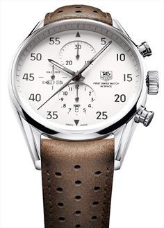 TAG-Heuer Carrera Calibre 1887 SpaceX Chronograph - Limited to 2012 pieces