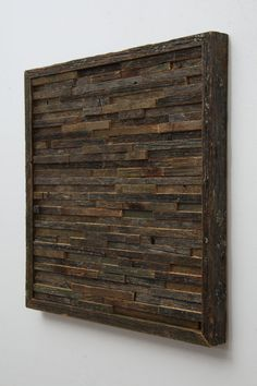 Reclaimed wood wall art 15x15x11/4 by CarpenterCraig on Etsy, $120.00