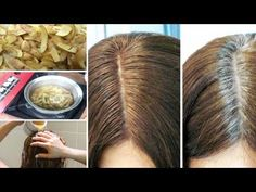 Tips & Home Remedies To Solve Gray Hair Problem Instantly Global Hair Color, Color Your Hair, Hair Dye Colors, Shades Of Brunette, Brunette Hair, Dyed Natural Hair, Dyed Hair, Damp Hair Styles, Natural Hair Styles