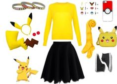 Check out these creative Halloween costume DIY ideas for men and women, which are already in your closet (just in case you waited until the last minute). Creative Halloween Costumes, Diy Costumes, Halloween Diy, Diy Ideas, Party Ideas, Kara, Just In Case, Pikachu, Student