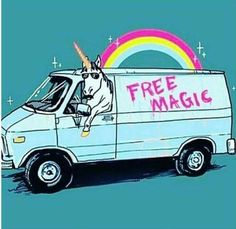 #unicorn #freemagic #rainbow