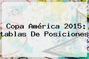 http://tecnoautos.com/wp-content/uploads/imagenes/tendencias/thumbs/copa-america-2015-tablas-de-posiciones.jpg Tabla De Posiciones Copa America. Copa América 2015: tablas de posiciones, Enlaces, Imágenes, Videos y Tweets - http://tecnoautos.com/actualidad/tabla-de-posiciones-copa-america-copa-america-2015-tablas-de-posiciones/
