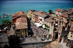 Sirmione,lake of Garda Italy