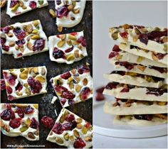 Vegan White Chocolate Bark